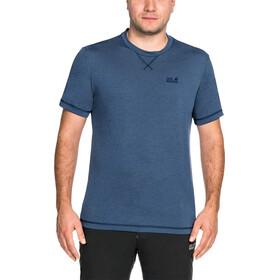 Jack Wolfskin Crosstrail T-Shirt Men ocean wave